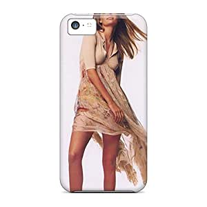 Iphone 5c Case Cover - Slim Fit Tpu Protector Shock Absorbent Case (mischa Barton)