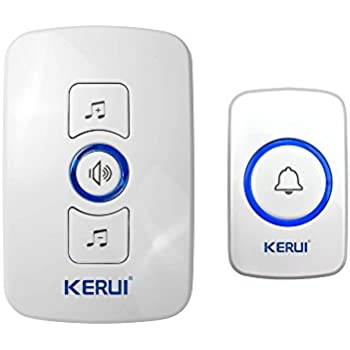 Kerui Wireless Pir Motion Sensor Door Bell Shop Visitor