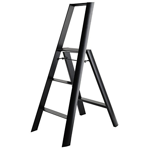 (Hasegawa Ladders  Step Ladder, Black)