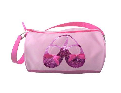 Horizon Dance 3401 Satin & Sequins Ballet Shoes Duffel Bag ()