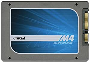 Crucial m4 64GB 2.5-Inch (9.5mm) SATA 6Gb/s Solid State Drive CT064M4SSD2
