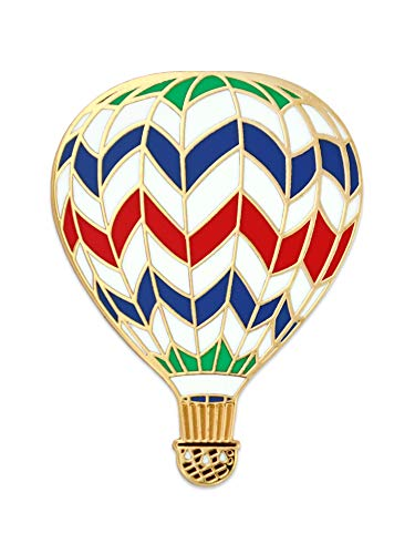 PinMart Hot Air Balloon Enamel Lapel Pin