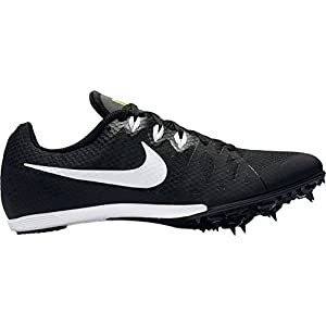 Nike Men's Zoom Rival MD 8 Track and Field Shoes(Black/White, 8 D(M) US)