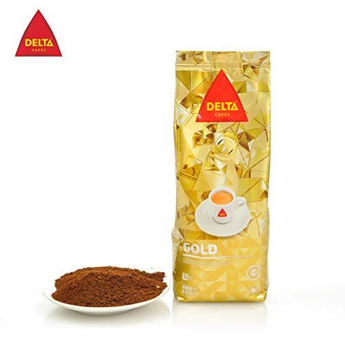 Delta - Café molido dorado Sensaciones de café portugués para máquina 250gr.: Amazon.es: Alimentación y bebidas