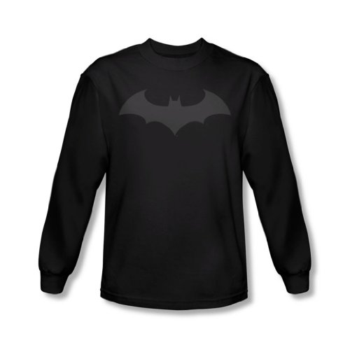 Bat Long Sleeve T-shirt - Long Sleeve: Batman - Hush Logo Longsleeve Shirt Size L