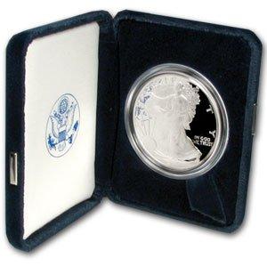 (2000-P 1 oz Silver American Eagle - (Proof))