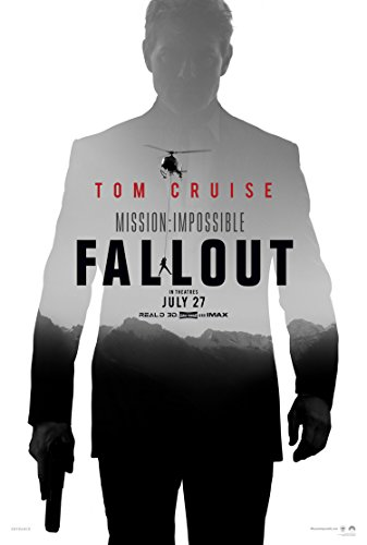 MISSION IMPOSSIBLE FALLOUT MOVIE POSTER 2 Sided ORIGINAL Advance 27x40 TOM ()