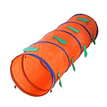 Chinatera Children Animal Tunnel Pop Up Discovery Tube Cartoon Play Indoor Outdoor Tunnel Toy for Boys Girls