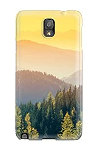 lintao diy Galaxy Note 3 Cover Case - Eco-friendly Packaging(mountain)