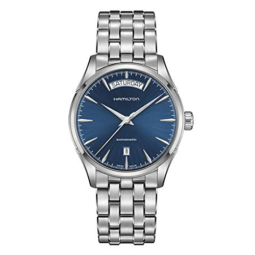 Hamilton H32505141 Jazzmaster Blue Dial Stainless Steel Men's Watch