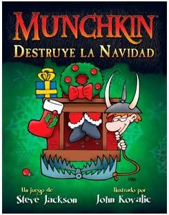 Munchkin - Destruye la Navidad, Juego de Mesa (Edge Entertainment ...