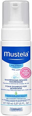 Mustela Foam Shampoo,  5.07 oz