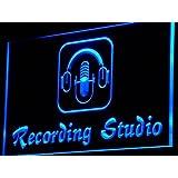 ADV PRO i801-b Recording Studio Microphone Bar Neon Light Sign Barlicht Neonlicht Lichtwerbung