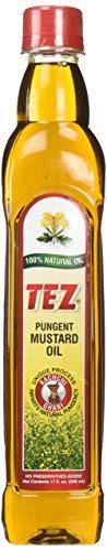 Mustard Oil - Tez Mustard Oil,16 fl oz