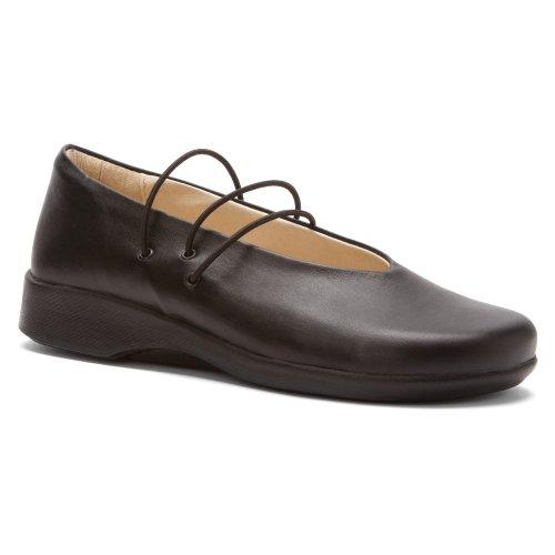 Arcopedico Vrouwen Steeg Platte Schoenen Zwart