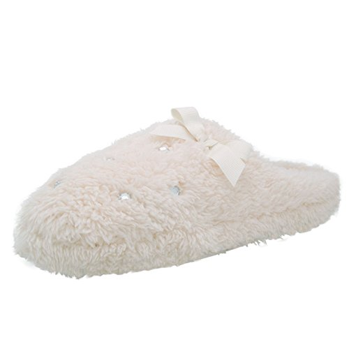 Women's Winter Cable Knit Scuff Slipper