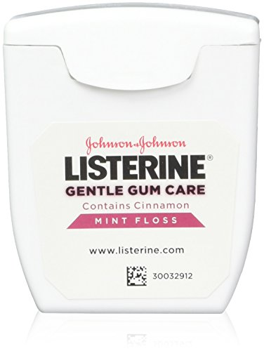 Listerine Gentle Gum Mint Floss, With Cinnamon 50