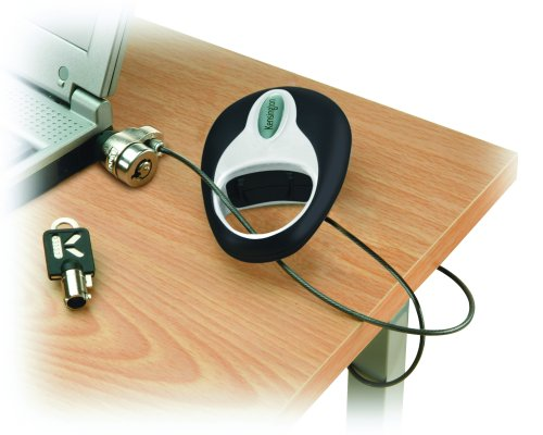 Portable Laptop Lock - Kensington 64053 MicroSaver Retractable Portable Notebook Lock (PC/Mac)