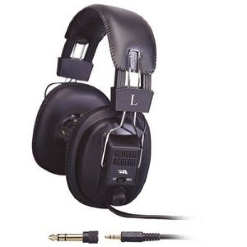 CYBER ACOUSTICS Pro Series ACM-500RB Headphone - Stereo - Mini-phone - Wired - 20 Hz 20 kHz - Gold Plated - Over-the-head - Binaural - Circumaural - 6 ft Cable / ACM-500RB /