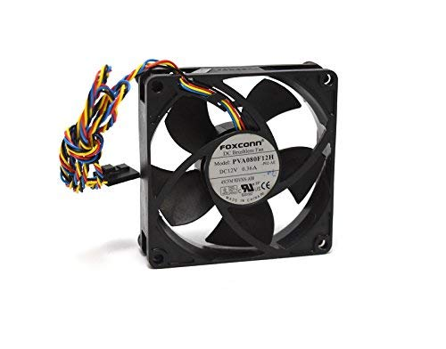 (9DVNN Genuine OEM Rear Small Form Factor PC Computer Fan For Dell Optiplex 390 790 990 3010 7010 9010 4-Wire 5-Pin Power Connector Foxconn AVC Sunon Rev:A00)