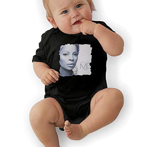 JosephG Infant Mary J Blige The Breakthrough Bodysuit Outfits Black 12M -