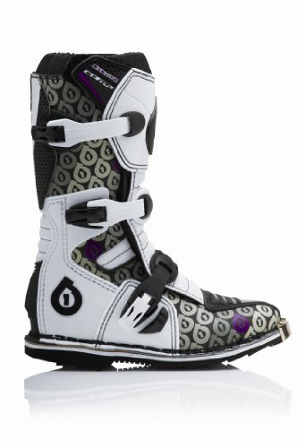 Boot Comp Sixsixone Youth Black Logo white purple 6tT5wxT