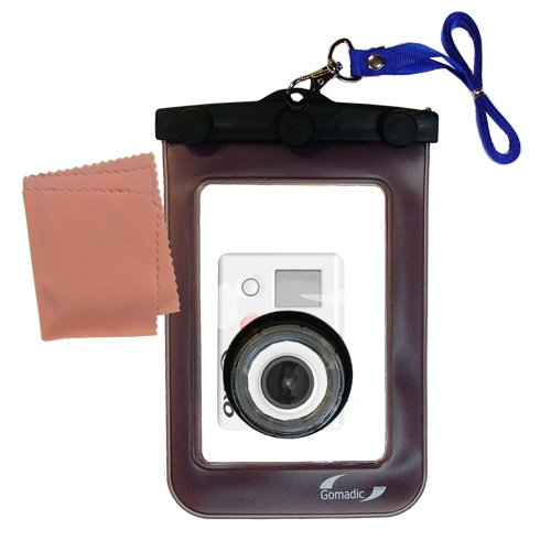 Gomadic防水カメラ保護バッグ最適な用途のGoPro hero3 – UniqueフローティングデザインKeepsカメラClean and Dry   B00A2UX2R6