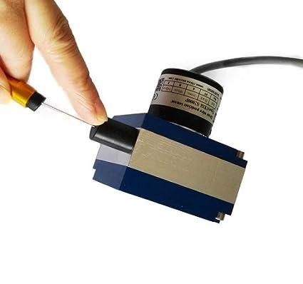 GOWE 4000 mm Draw alambre sensor transductor de desplazamiento lineal Encoder Cable de instrumento de medida