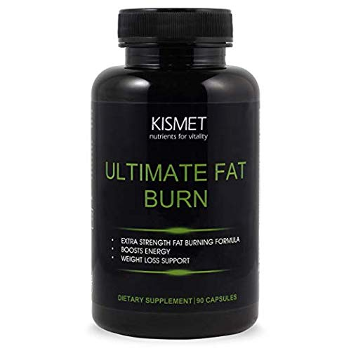 KISMET Nutrients - Thermogenic Fat Burn Supplement for Men and Women, Garcinia Cambogia CLA Ultimate Cleanse Metabolism Booster, 90 Extra Strength Capsules