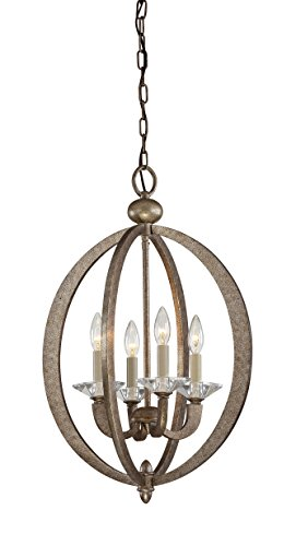 Pendant with No Shades, Gold Dust Finish - Savoy House 3-1552-4-122