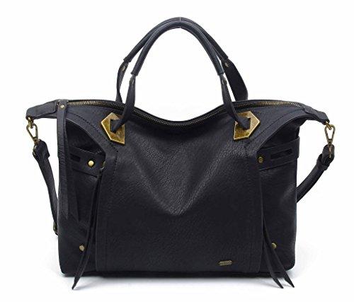 Black Purse Hi Quality Vegan Leather The Ali Satchel Bag