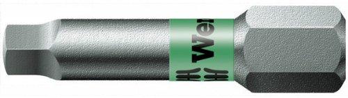 Wera Series 1 868/1 BTZ BiTorsion Bit, Square-Plus #1 Head x 1/4