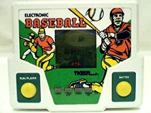 Tiger Electronic Baseball Handheld LCD Game - 1988