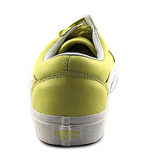 Basket, couleur Jaune , marque VANS, modèle Basket VANS OLD SKOOL Jaune