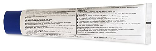 Hemorrhoidal Pain Relief Ointment Generic For Preparation H 2 oz (57g) Per Tube