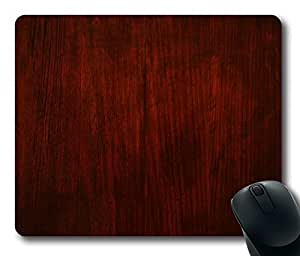 Mouse Pad Red Wood Desktop Laptop Mousepads Comfortable Office Mouse Pad Mat Cute Gaming Mouse Pad