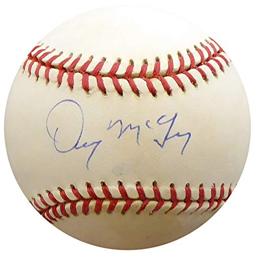 Detroit Denny Tigers Mclain (Denny McLain Signed Auto Official AL Baseball Detroit Tigers - Beckett Certified)