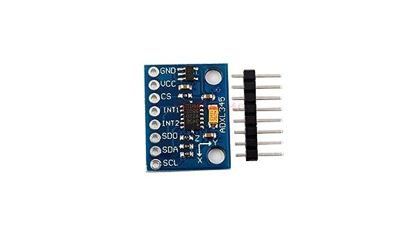 AD ADXL345 3-Axis Accelerometer Tilt Sensor GY-345 Board with I2C//SPI Arduino Pi
