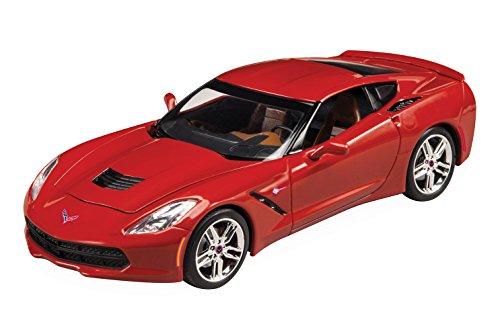 Revell 2016 Corvette Stingray Plastic Model Kit (Revell Model Cars Kits 57 Chevy)