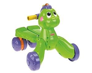 Amazon.com: Fisher-Price Go Baby Go! Stride-to-Ride Dino ...