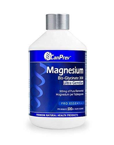 Canprev Liquid Magnesium Bis-glycinate 300 Ultra Gentle 500ml 18 Gram 60 Gram