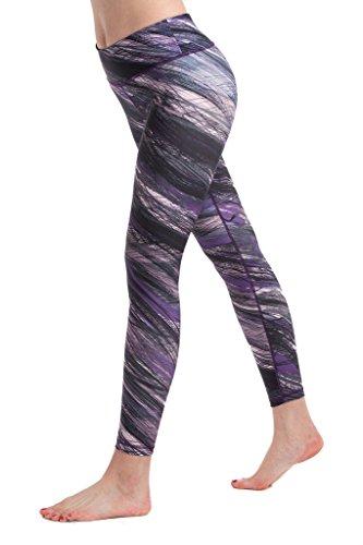 Lotus Instyle Mujeres Pantalones Deportivos Athletic Gym Entrenamiento Fitness Yoga Leggings Pantalones Tira2