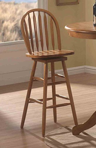 Coaster Home Furnishings Contemporary Ba - Arrow Oak Bar Stool Shopping Results