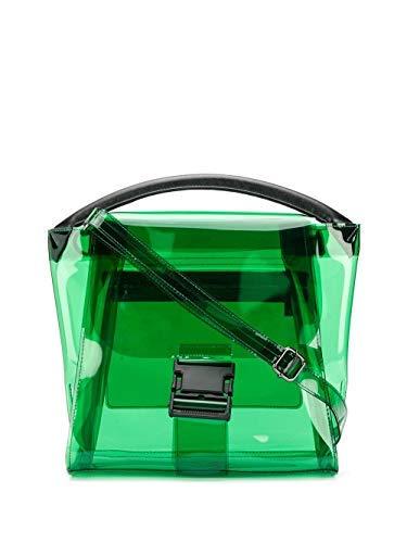 ZUCCA ZU97AG17410 Women's Green Plastic Handbag