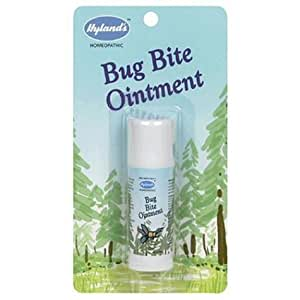 Hyland's Bug Bite Ointment, .26oz (8 g) (Pack of 4)