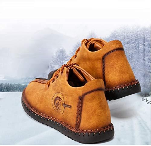 Dimensioni Inverno Grandi Da Giallo Tenere Stivali Caldo Moda Peluche Uomo  Casual Scarpe wvFpq7UIz 94d1b31c002