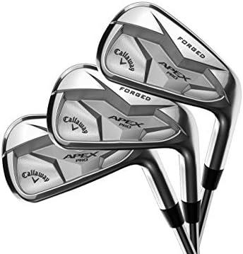 Callaway Golf 2019年モデル APEX PRO アイアン7本セット (男性用、右利き、シャフト: True Temper Elevate Tour スチール、フレックス: S、セット内容:4I,5I, 6I,7I,8I,9I,PW) 4A004472B3376 141[並行輸入]