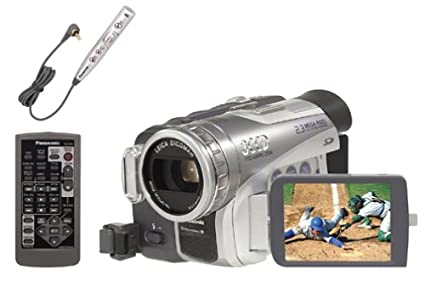 amazon com panasonic pvgs200 3ccd minidv camcorder w 10x optical rh amazon com Panasonic Camcorder Panasonic P2HD 3CCD