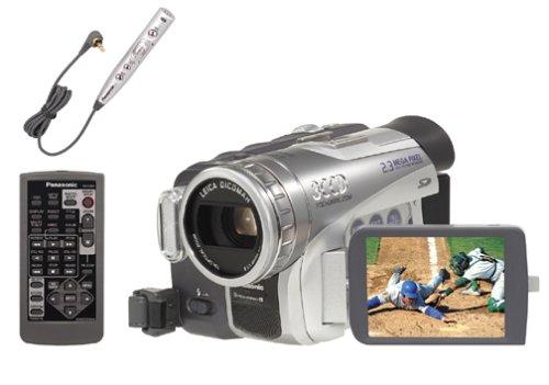 amazon com panasonic pvgs200 3ccd minidv camcorder w 10x optical rh amazon com