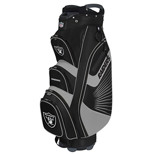 Team Effort NFL Oakland Raiders The Bucket II Cooler Cart Bag (Oakland Golf Bag Raiders Cart)